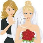 A_Wedding_Consultant_Helping_a_Bride_Royalty_Free_Clipart_Picture_110505-178946-022053